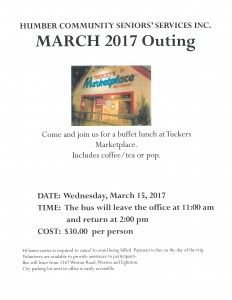 HCSS March 2017 Outing