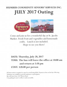 HCSS July 2017 Outing